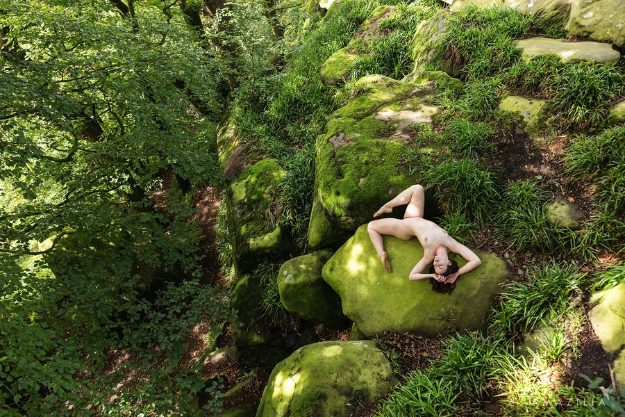 Nude on the Rocks / Photography by Amazilia Photography, Model Cariad Celis / Uploaded 29th October 2019 @ 06:36 PM