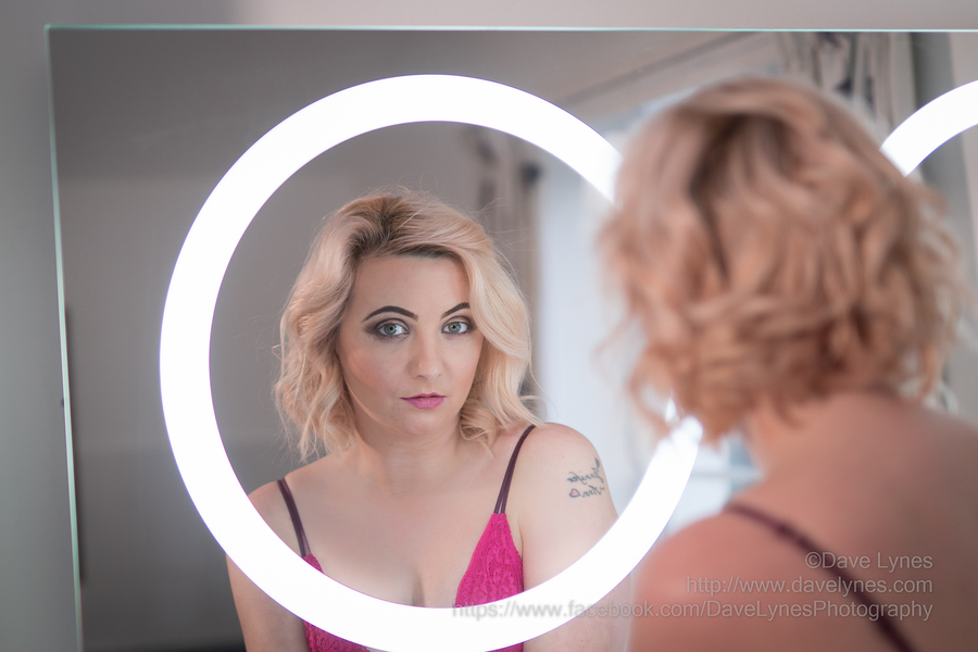 Mirror, mirror, on the wall... / Photography by Dave Lynes, Model PJ Elise, Post processing by Dave Lynes, Taken at Manor & Meadows / Uploaded 10th December 2017 @ 07:59 PM