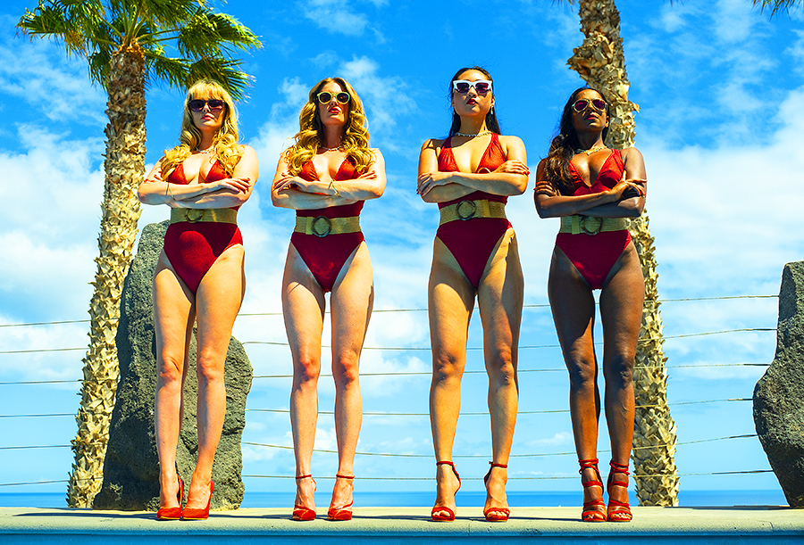 Ladies in Red / Photography by Paul GH Photography, Models Artemis Fauna, Models Carla Monaco, Stylist Artemisian Luxury Photographic Holidays / Uploaded 9th October 2021 @ 08:58 PM