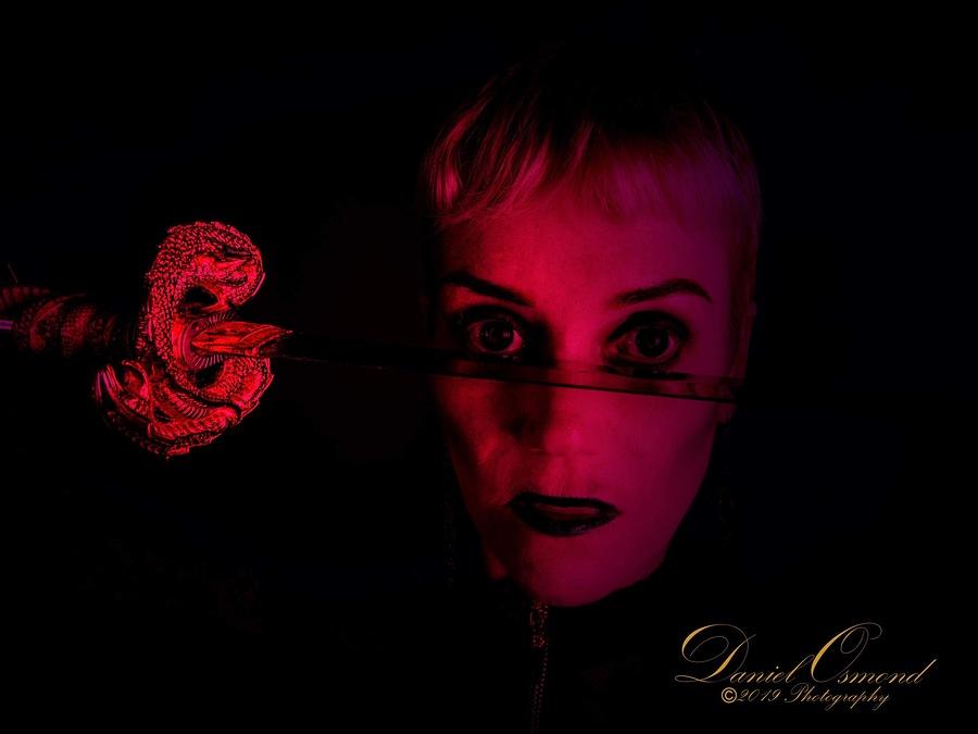 Evil samurai / Photography by Shortlens, Model Kath / Uploaded 21st September 2019 @ 07:33 PM