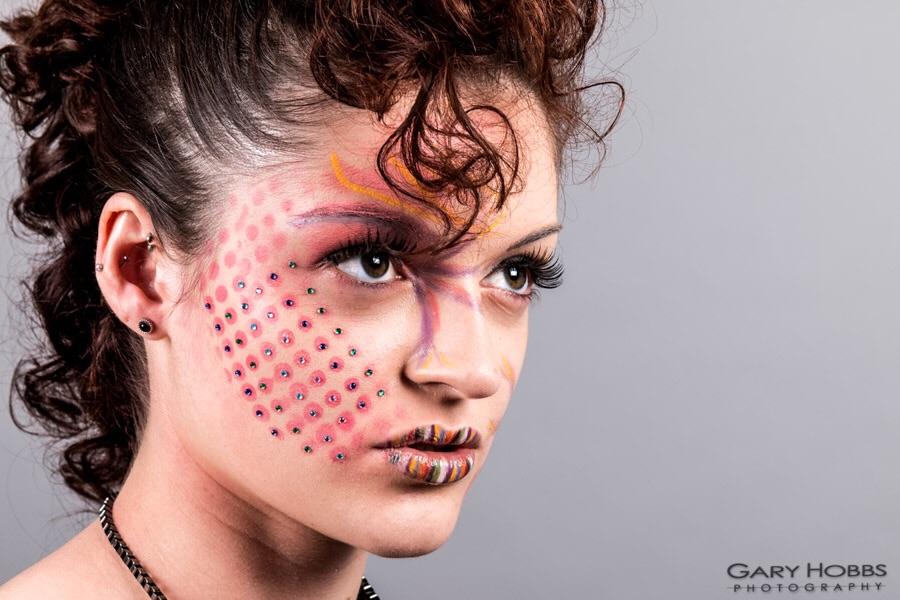 Wacky / Photography by Gary Hobbs, Model lozzagreen, Makeup by JennyWest_HairandMua / Uploaded 22nd September 2015 @ 08:53 PM