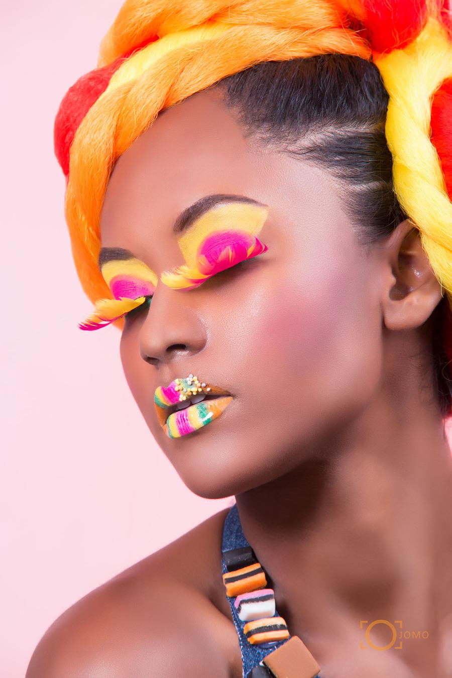 Candy Craze / Makeup by Genesis Creationz, Hair styling by Genesis Creationz / Uploaded 25th September 2015 @ 03:04 AM
