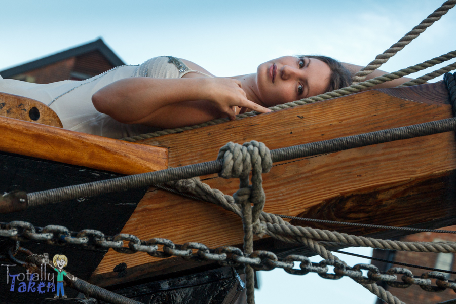 Lying on the Prow / Photography by Totally Taken, Model Naiya / Uploaded 4th October 2014 @ 01:54 AM