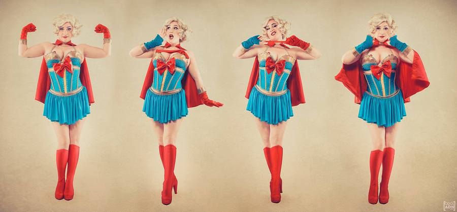 Bombshell SuperGirl Burlesque show / Photography by CoolADN / Uploaded 5th December 2016 @ 03:36 PM