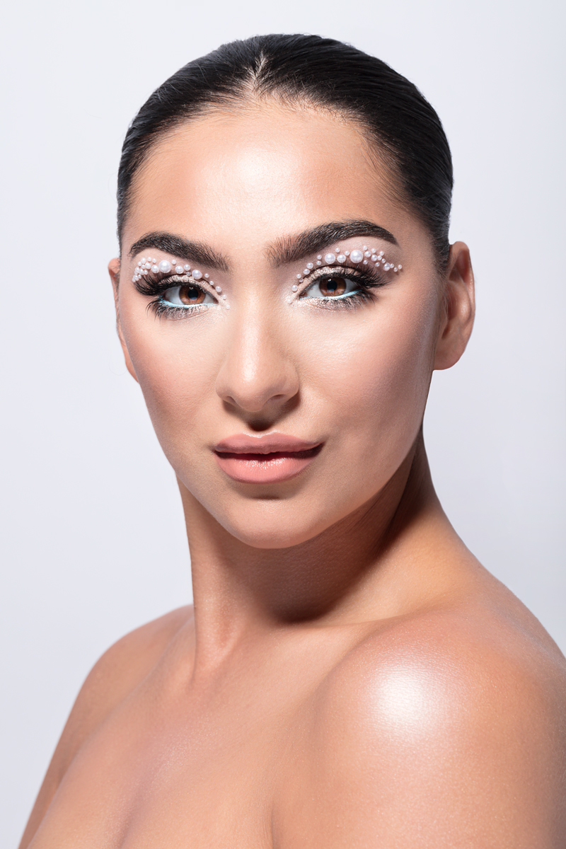 All a woman needs if pearls and jewels / Model Elesha Eden, Makeup by Mariola Mamak MUA, Hair styling by Elesha Eden / Uploaded 14th January 2021 @ 07:47 PM