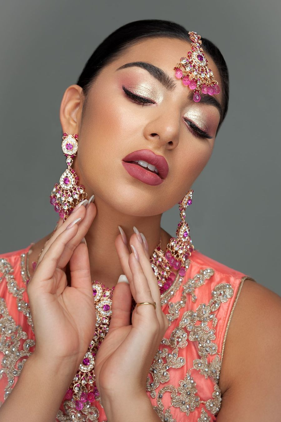 Malvie publication Indian Inspired / Photography by strussler, Model Elesha Eden, Makeup by Mariola Mamak MUA, Post processing by Barbara Flyte, Stylist Elesha Eden, Taken at Inspire Studios Ltd, Hair styling by Elesha Eden, Assisted by Inspire Studios Ltd / Uploaded 19th January 2021 @ 06:44 PM