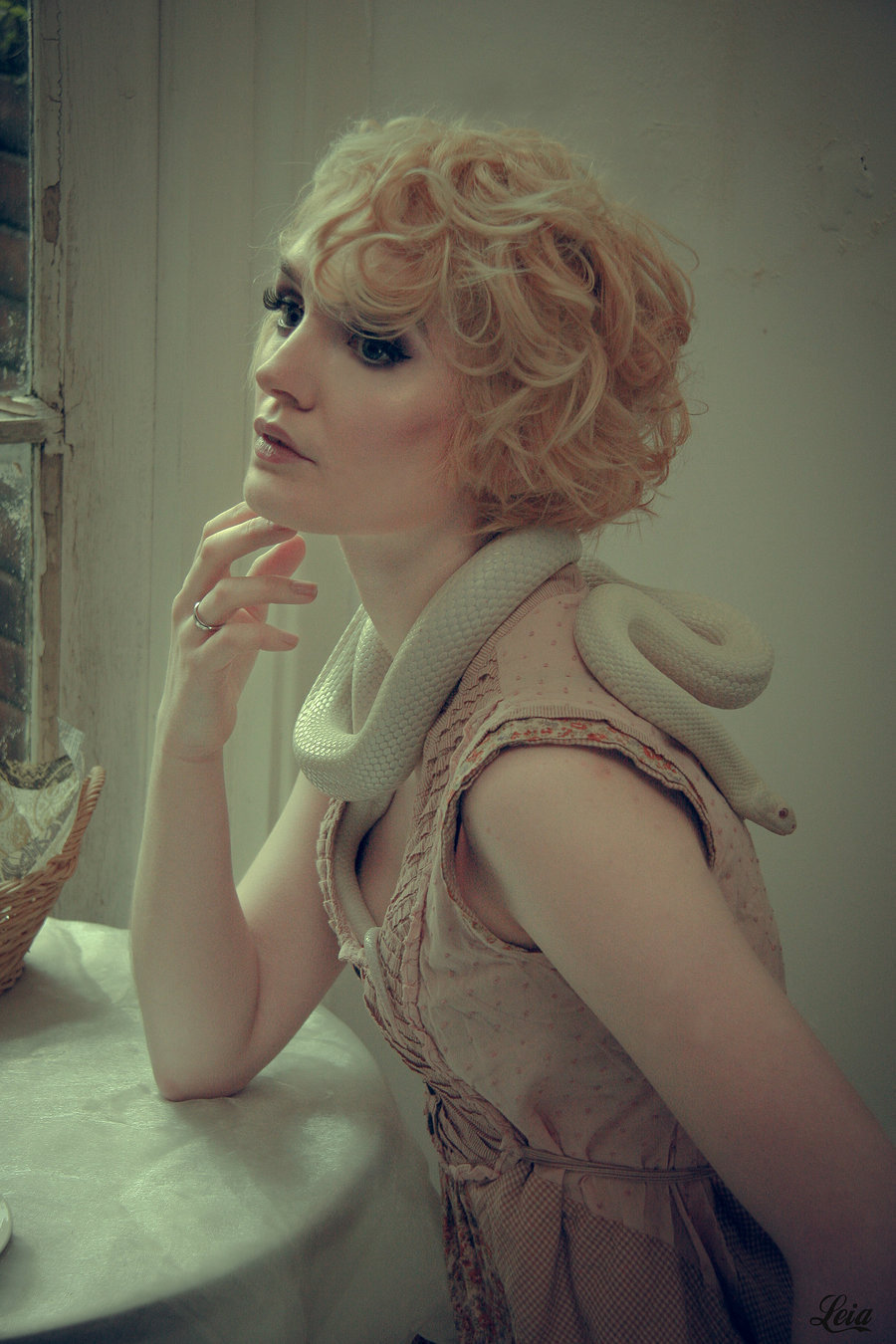 Makeup by Leia Bishop, Stylist Ellie's Reptiles, Hair styling by Ellie's Reptiles / Uploaded 5th May 2015 @ 12:04 PM