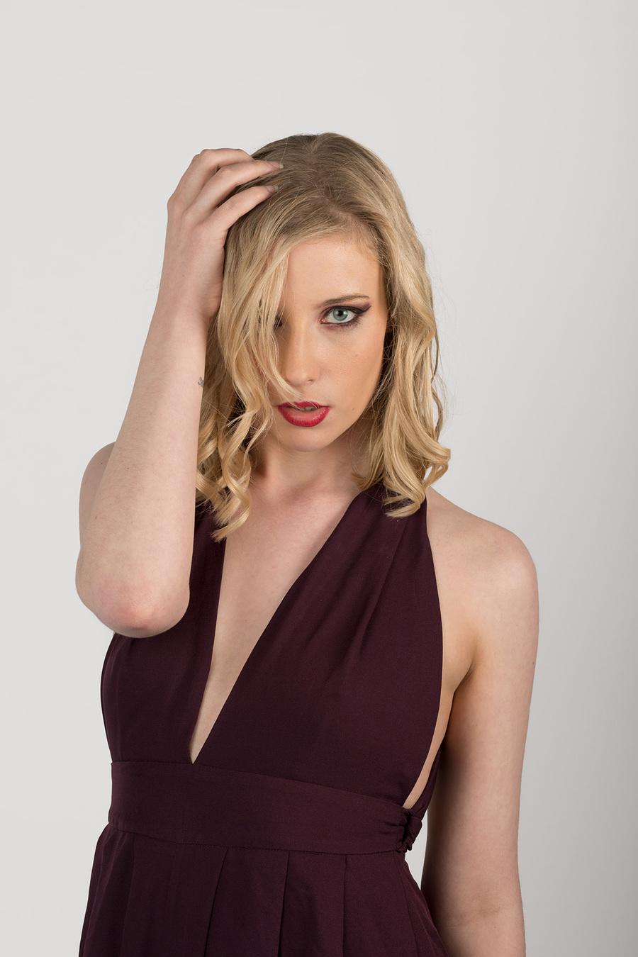 Kate In Purple / Photography by Brian Brogan, Model Kate Laura, Taken at Brian Brogan / Uploaded 26th April 2016 @ 09:32 PM