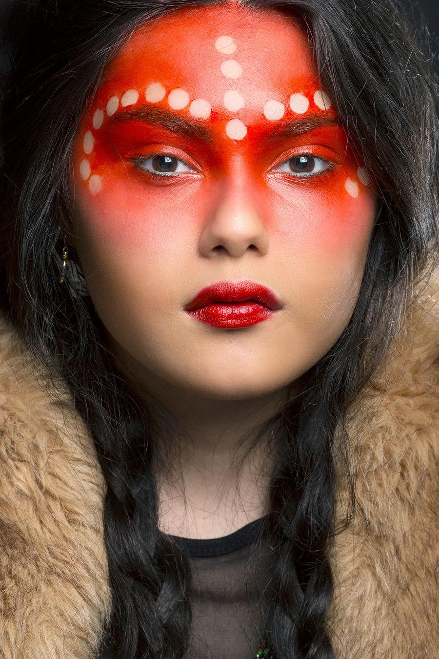 Tribal 2 / Photography by Brian Brogan, Model SafiaPixie, Taken at Brian Brogan / Uploaded 24th May 2017 @ 07:29 PM