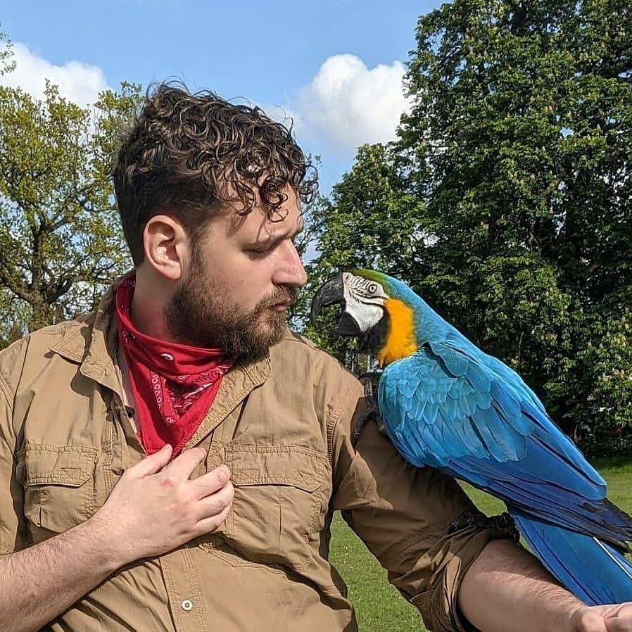 Animal Friends / Photography by SlashStreetPhotography, Model Ryan Parker, Taken at Save the Animals Save the World1 / Uploaded 13th July 2021 @ 07:16 AM