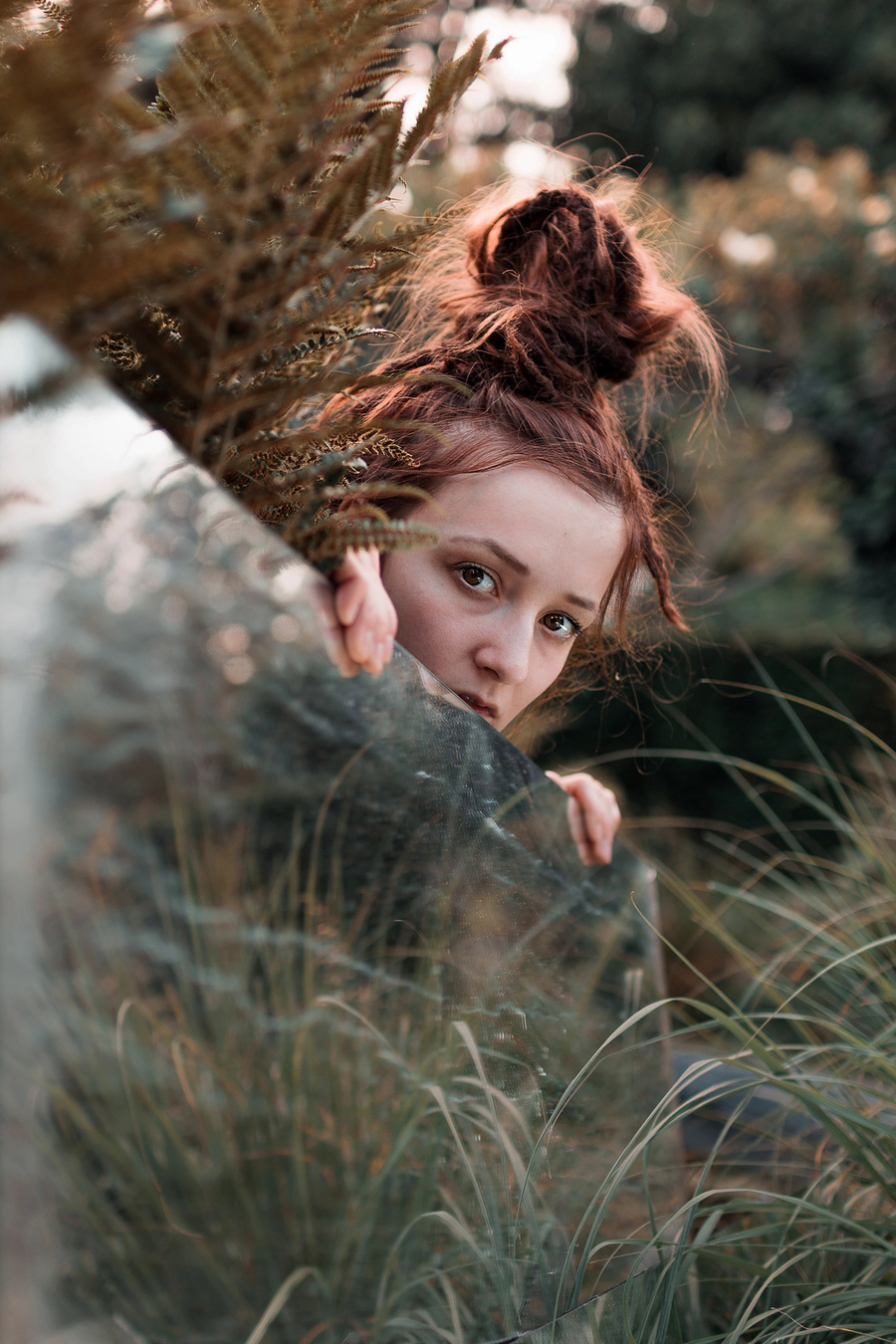 Hide behind another reality / Photography by Balazs Toro, Model Stephanie Pearl Model / Uploaded 22nd September 2019 @ 08:56 AM