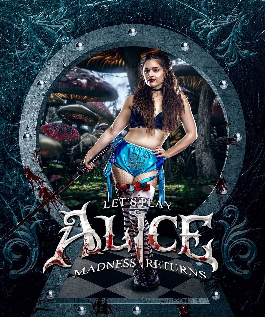 Alice madness returns - burlesque / Model Mariesartain95 / Uploaded 9th January 2019 @ 01:33 PM