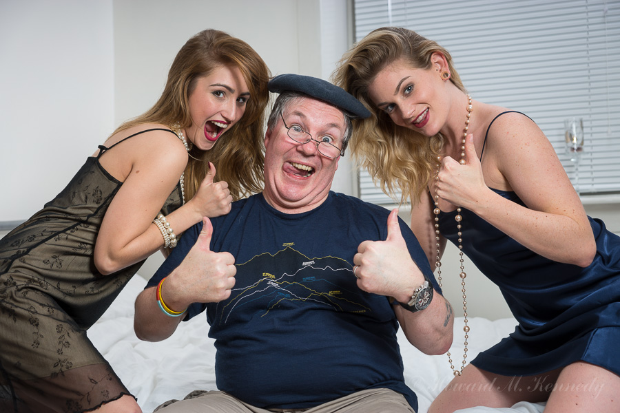 Benny Hill Tribute / Photography by PhotoClassic, Models Artemis Fauna, Models Rachelle Summers, Assisted by Batwoman / Uploaded 9th November 2015 @ 08:54 AM