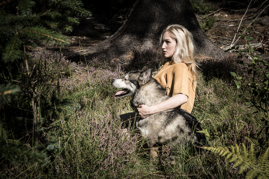 Wolf Girl / Photography by PhotoClassic, Model Rachelle Summers / Uploaded 4th September 2013 @ 12:57 PM