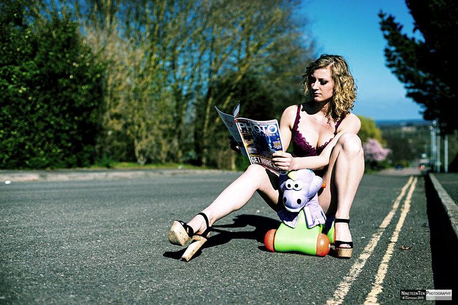 Tatiana And The Dino / Photography by NineteenTen Photography, Model Tatiana (T.) x / Uploaded 24th April 2015 @ 05:31 PM