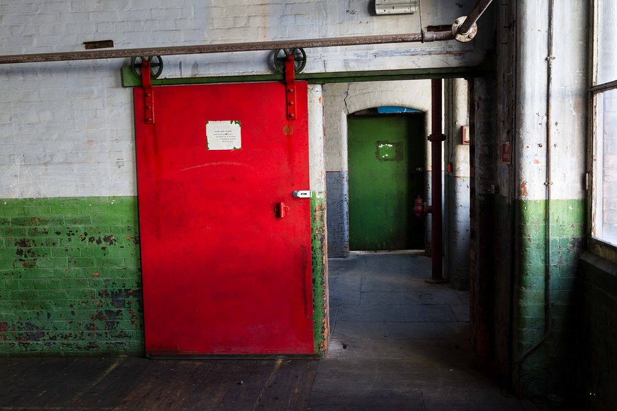 Doors from the main room to the slate room / Taken at Atlas_Studios / Uploaded 5th March 2016 @ 09:13 AM