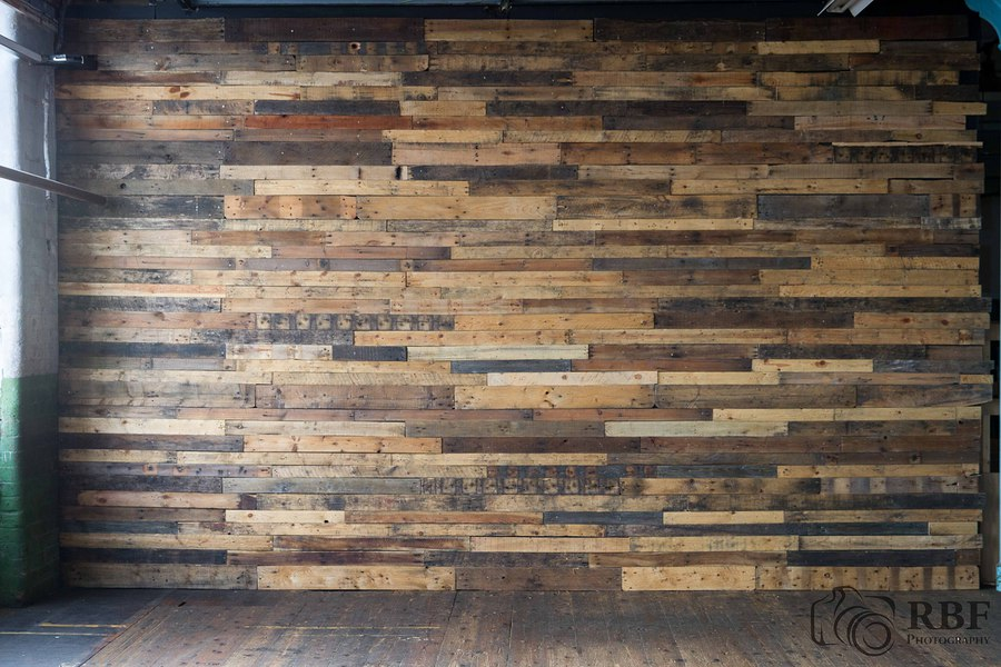 Pallet wall located in the main room / Taken at Atlas_Studios / Uploaded 5th March 2016 @ 08:56 AM
