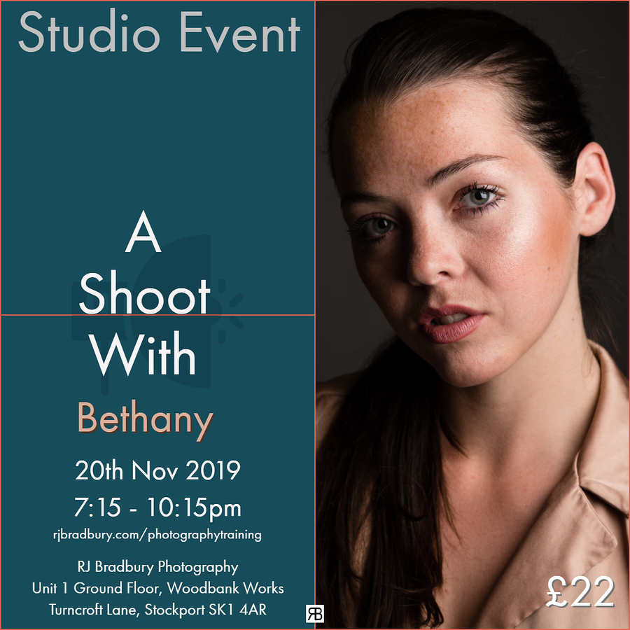 Studio Event - A Shoot with Bethany Suthers / Photography by RJ Bradbury Photography Studio, Model Bethany Suthers, Taken at RJ Bradbury Photography Studio / Uploaded 12th November 2019 @ 08:52 PM
