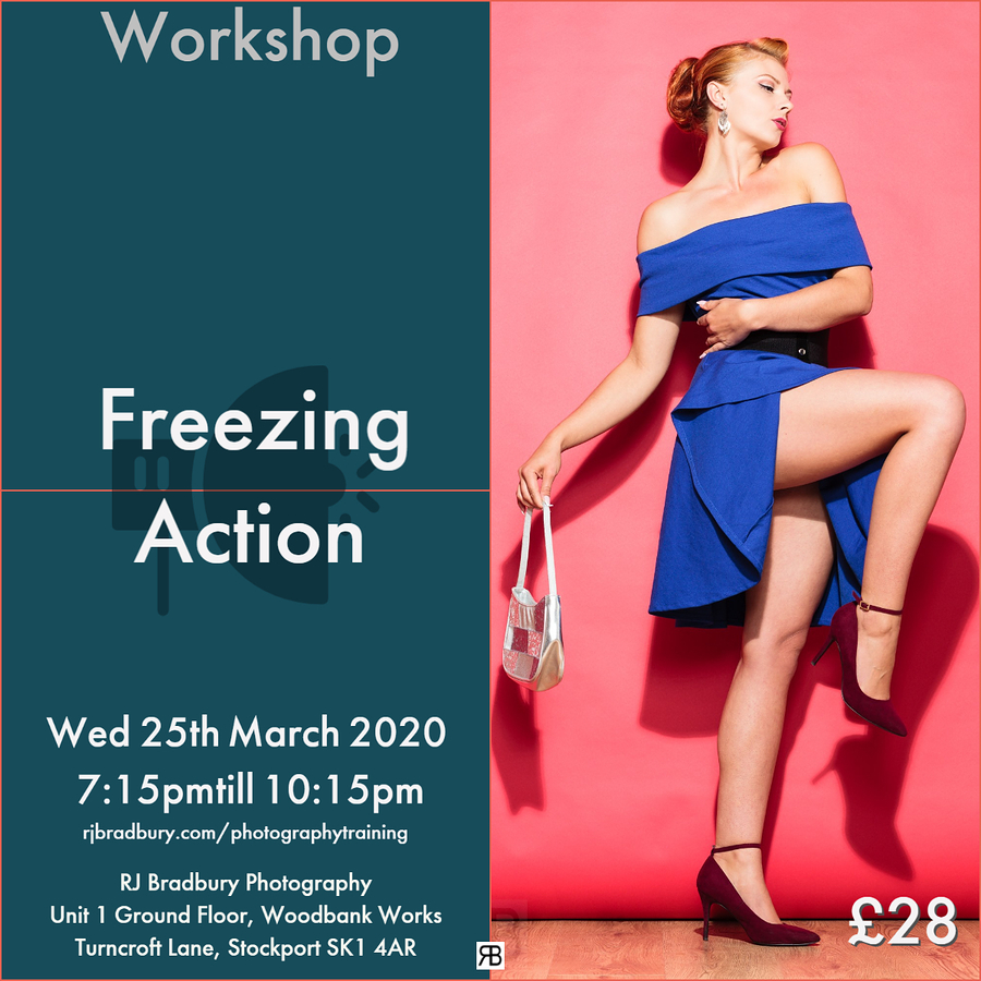 Freezig Action - Workshop - 25th March 2020 / Photography by RJ Bradbury Photography Studio, Taken at RJ Bradbury Photography Studio / Uploaded 6th March 2020 @ 06:07 PM