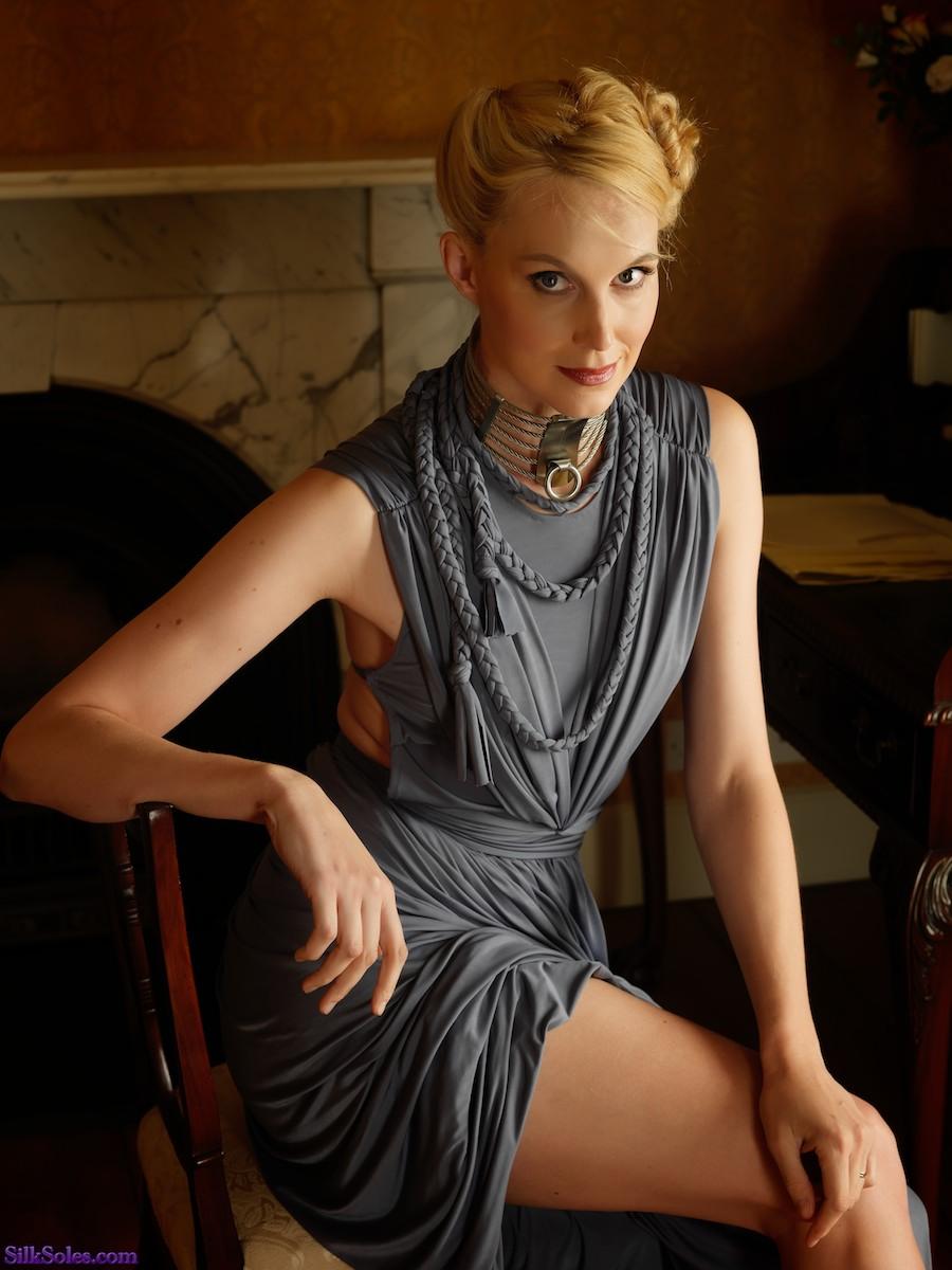 Lady in Steel / Photography by Hywel Phillips, Model Joceline Brooke-Hamilton, Stylist Falcieri Designs, Designer Falcieri Designs / Uploaded 31st October 2014 @ 11:22 AM