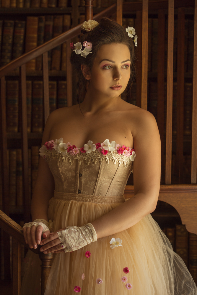 Library / Photography by Bee Jackson, Model Alicia Rossetti / Uploaded 1st May 2019 @ 08:55 AM