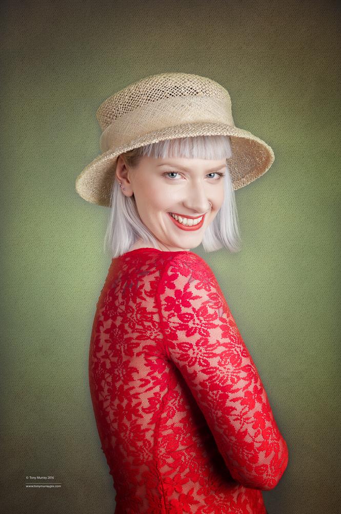 Happy Hat / Photography by Tony Murray Pix, Model Jocey / Uploaded 31st July 2016 @ 11:50 PM