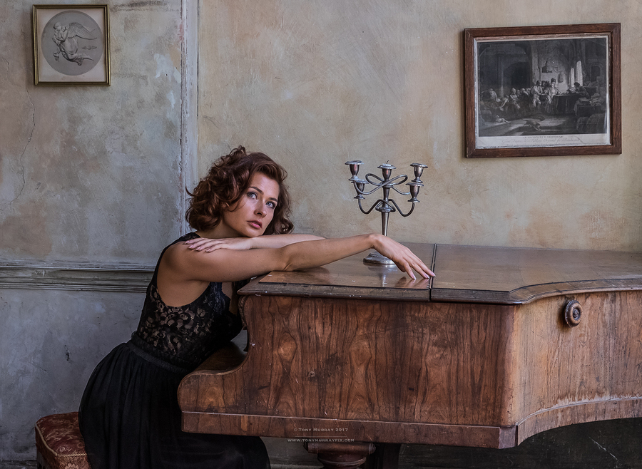 Piano stories / Photography by Tony Murray Pix, Model Artnute / Uploaded 5th August 2017 @ 10:34 PM