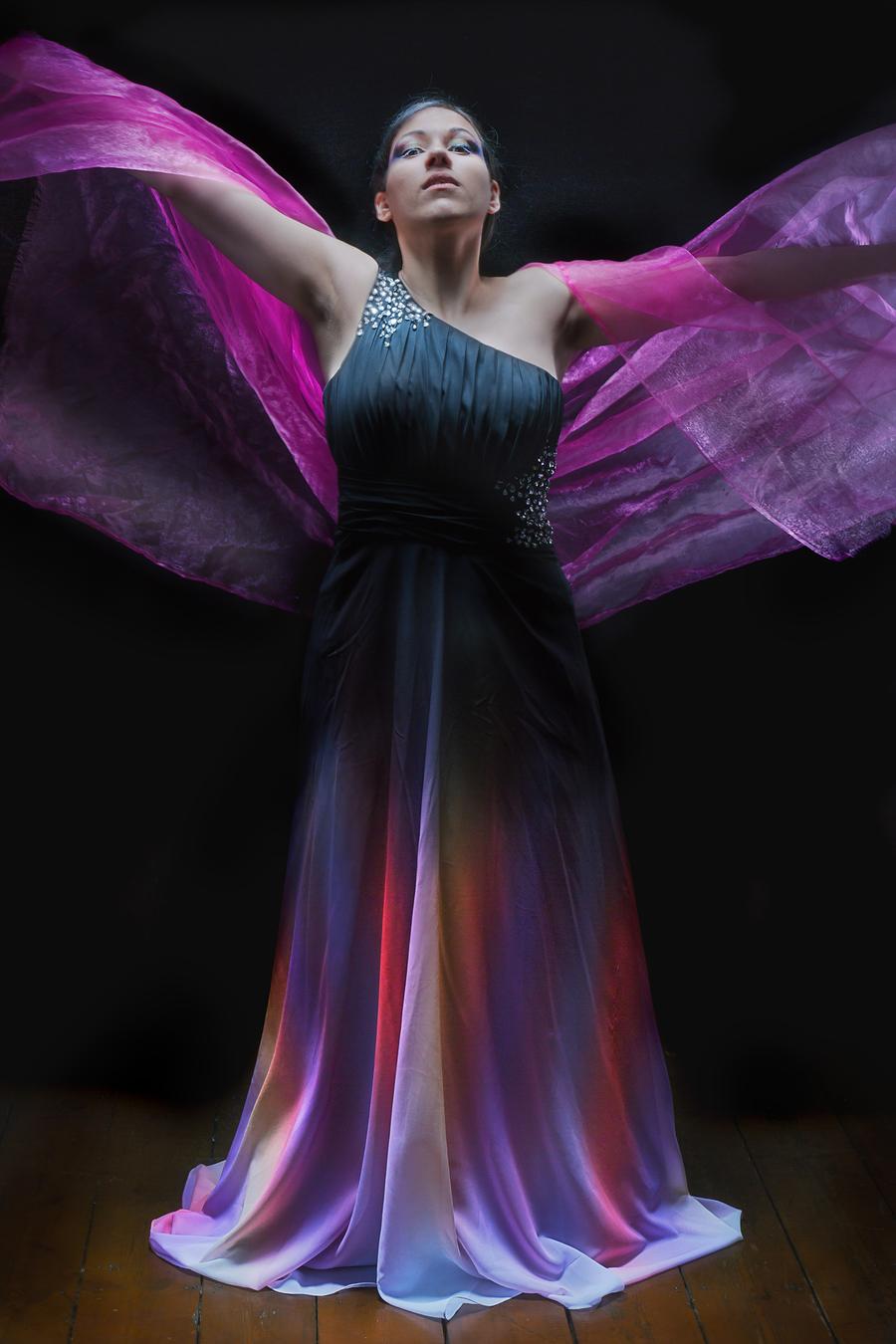 Iris - Goddess of the Rainbow / Photography by Stuart Runham (Pinupzania), Model phantom_elfsire, Stylist phantom_elfsire, Stylist Stuart Runham (Pinupzania) / Uploaded 27th February 2020 @ 05:35 PM