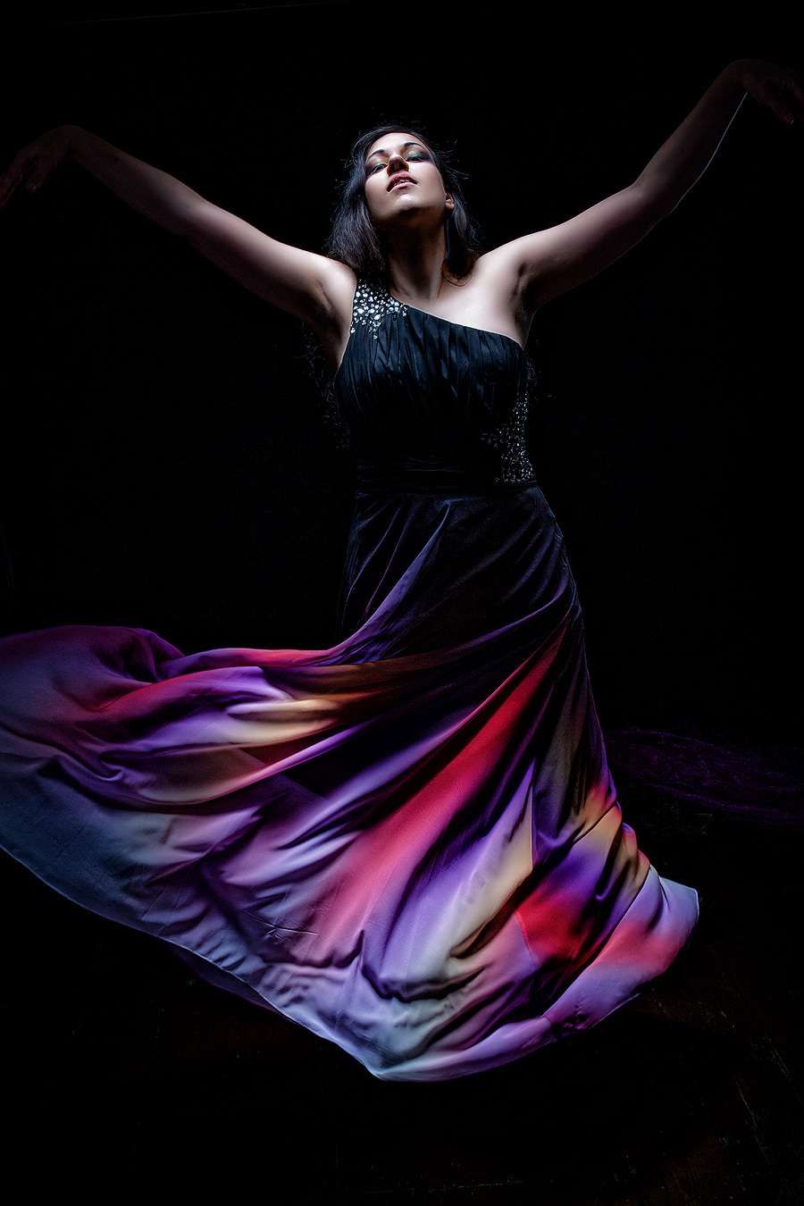 To live is to dance, to dance is to live / Photography by Stuart Runham (Pinupzania), Model phantom_elfsire / Uploaded 14th August 2020 @ 04:42 PM