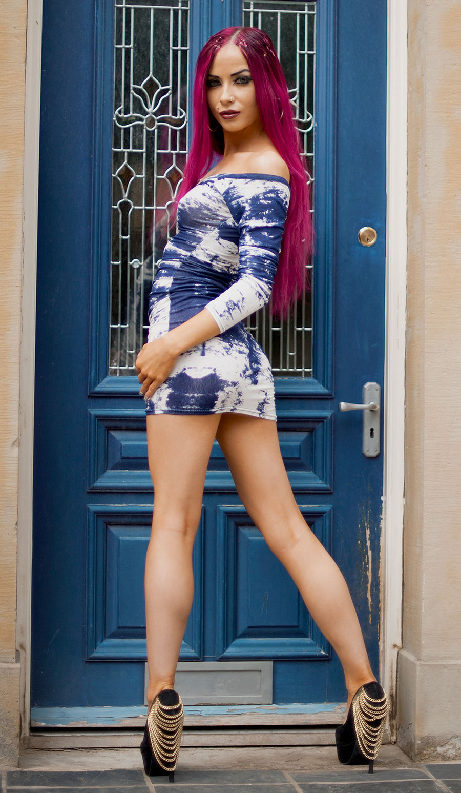 Fashion and Beauty in the Doorway. / Photography by Dennis Bloodnok Photography, Post processing by Dennis Bloodnok Photography / Uploaded 6th April 2015 @ 10:29 AM