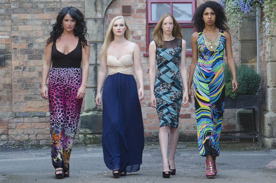 Here come the girls / Photography by Dennis Bloodnok Photography, Models BlackBeauty, Models Lottie21, Models Raven Lee, Makeup by BlackBeauty, Makeup by Lottie21, Makeup by Raven Lee, Post processing by Dennis Bloodnok Photography / Uploaded 8th July 2013 @ 12:11 PM