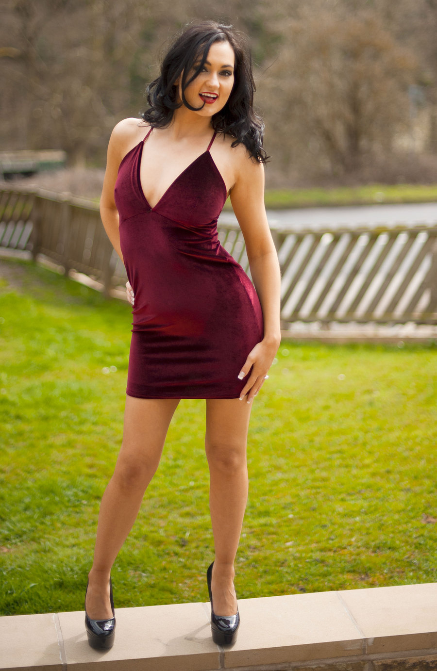Front Garden Fashion / Photography by Dennis Bloodnok Photography, Model BonnieBellotti, Makeup by BonnieBellotti, Post processing by Dennis Bloodnok Photography / Uploaded 19th June 2015 @ 09:45 PM