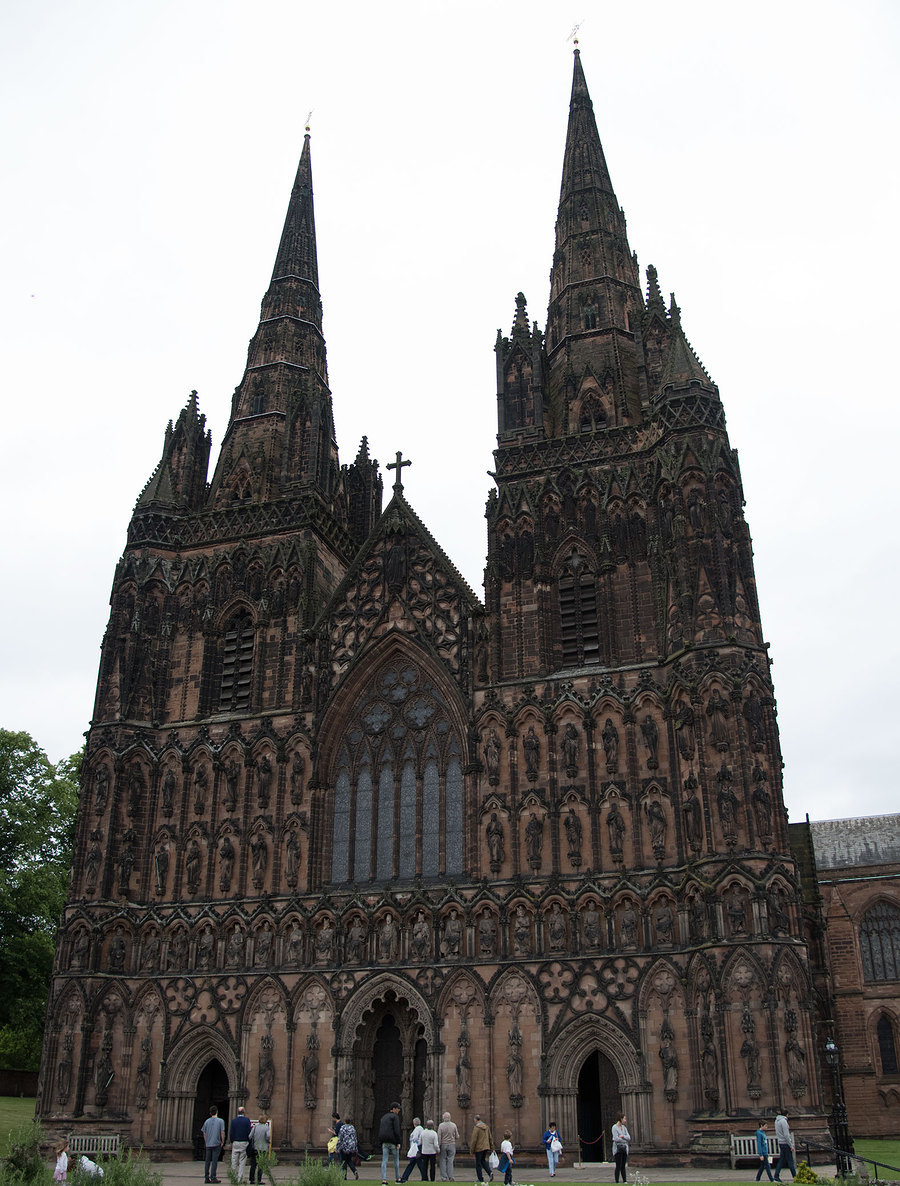 Lichfield Cathedral / Photography by Dennis Bloodnok Photography, Post processing by Dennis Bloodnok Photography / Uploaded 19th June 2016 @ 08:53 PM
