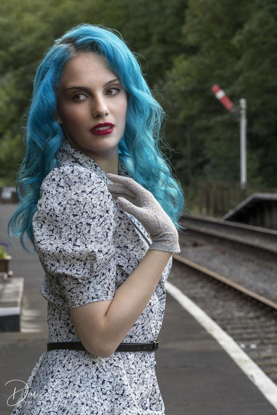 Anticipation / Photography by Dave Gibson, Model Mina Von Vixen, Makeup by Mina Von Vixen, Stylist Mina Von Vixen / Uploaded 18th March 2018 @ 03:34 PM