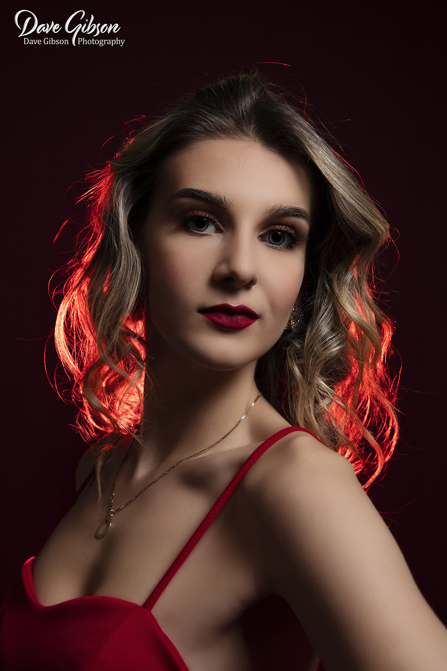Lady in Red / Photography by Dave Gibson / Uploaded 2nd February 2019 @ 04:56 PM