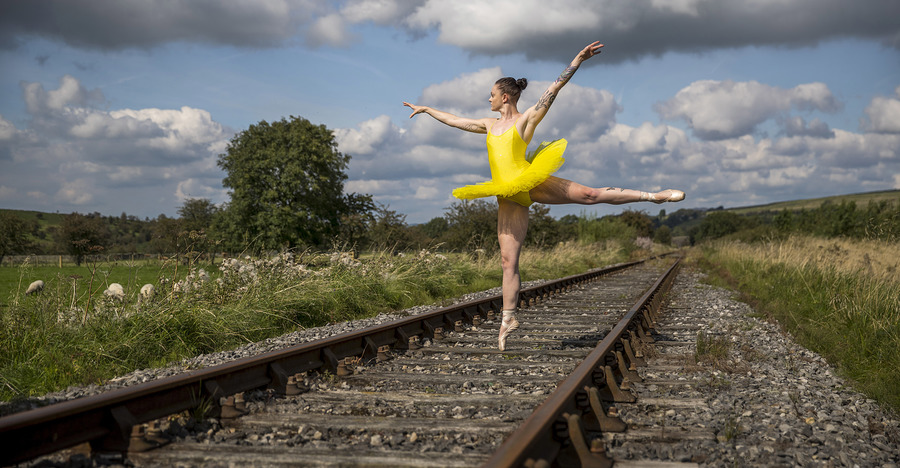 The ballerina / Photography by Dave Gibson, Model Rachyy, Makeup by Rachyy, Stylist Rachyy, Hair styling by Rachyy / Uploaded 30th October 2019 @ 03:48 PM