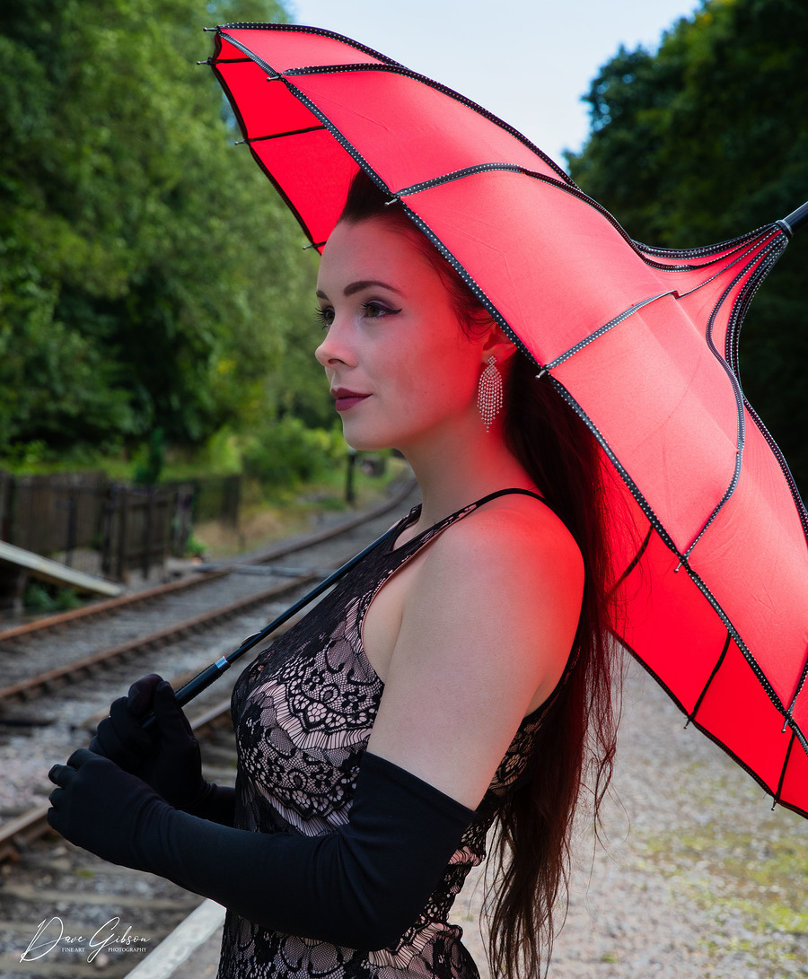 My Red Umbrella / Photography by Dave Gibson / Uploaded 7th April 2021 @ 10:52 PM