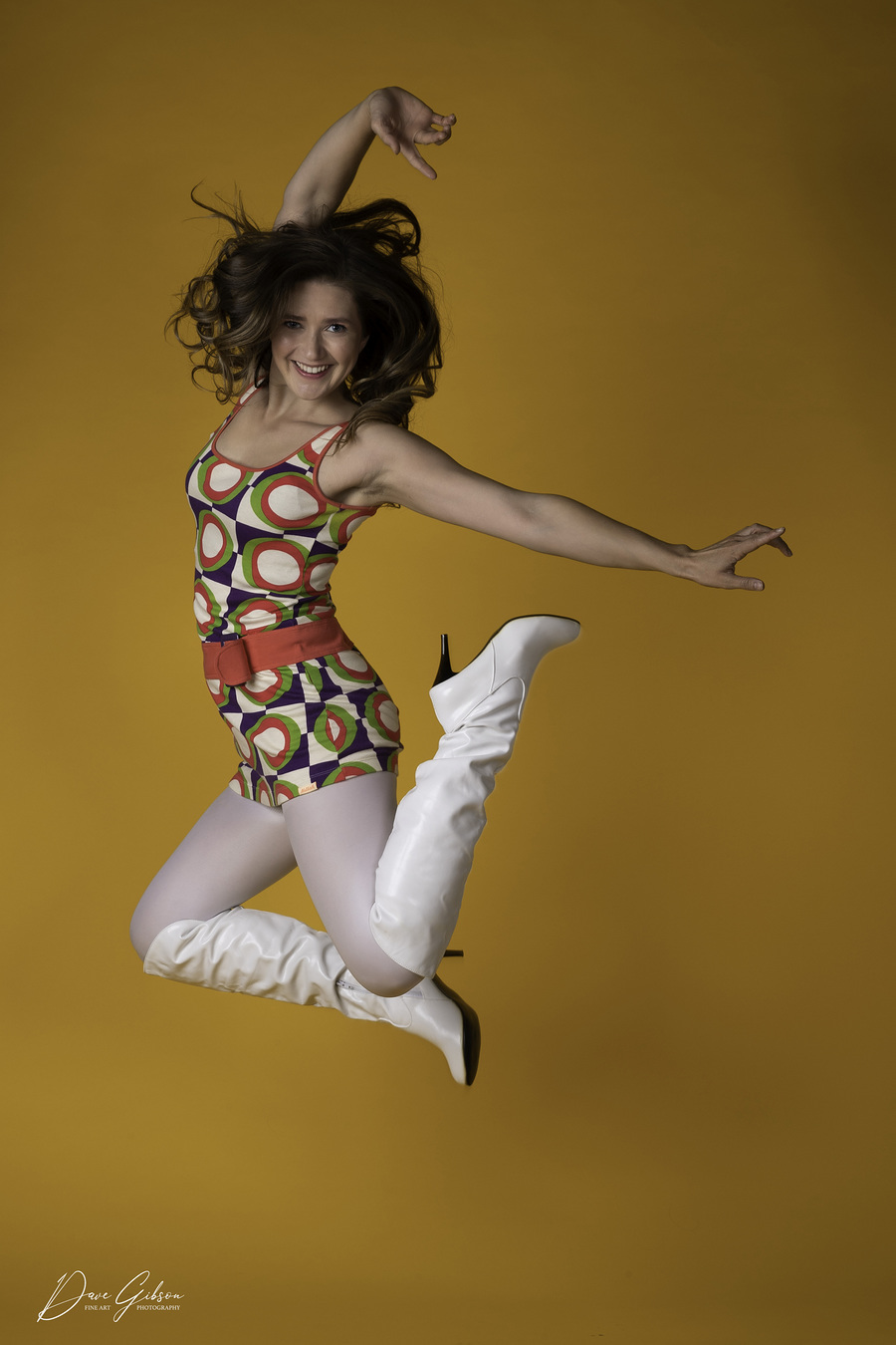 Jump For Joy / Photography by Dave Gibson, Model Rebecca Berny, Makeup by Rebecca Berny, Stylist Rebecca Berny, Hair styling by Rebecca Berny / Uploaded 5th May 2021 @ 09:34 PM
