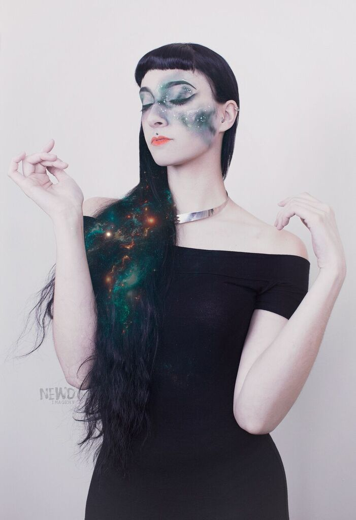 Galaxy / Photography by NEWO, Model Freya Celeste, Makeup by Ambellina, Post processing by NEWO / Uploaded 1st April 2017 @ 12:49 PM
