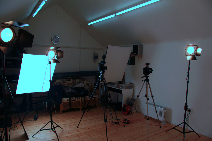 Studio Continious Lighting / Photography by John Gannon, Taken at Studio de Lumière / Uploaded 27th October 2016 @ 05:15 PM