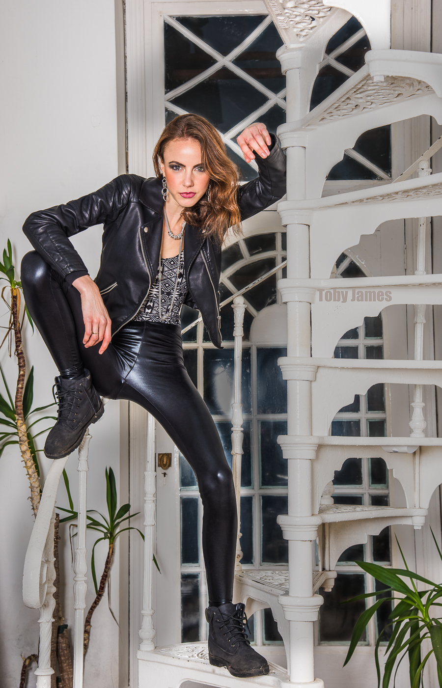 Rock Chick hanging tough / Photography by TobyJ, Model Amberlin Michelle / Uploaded 20th November 2016 @ 05:15 PM