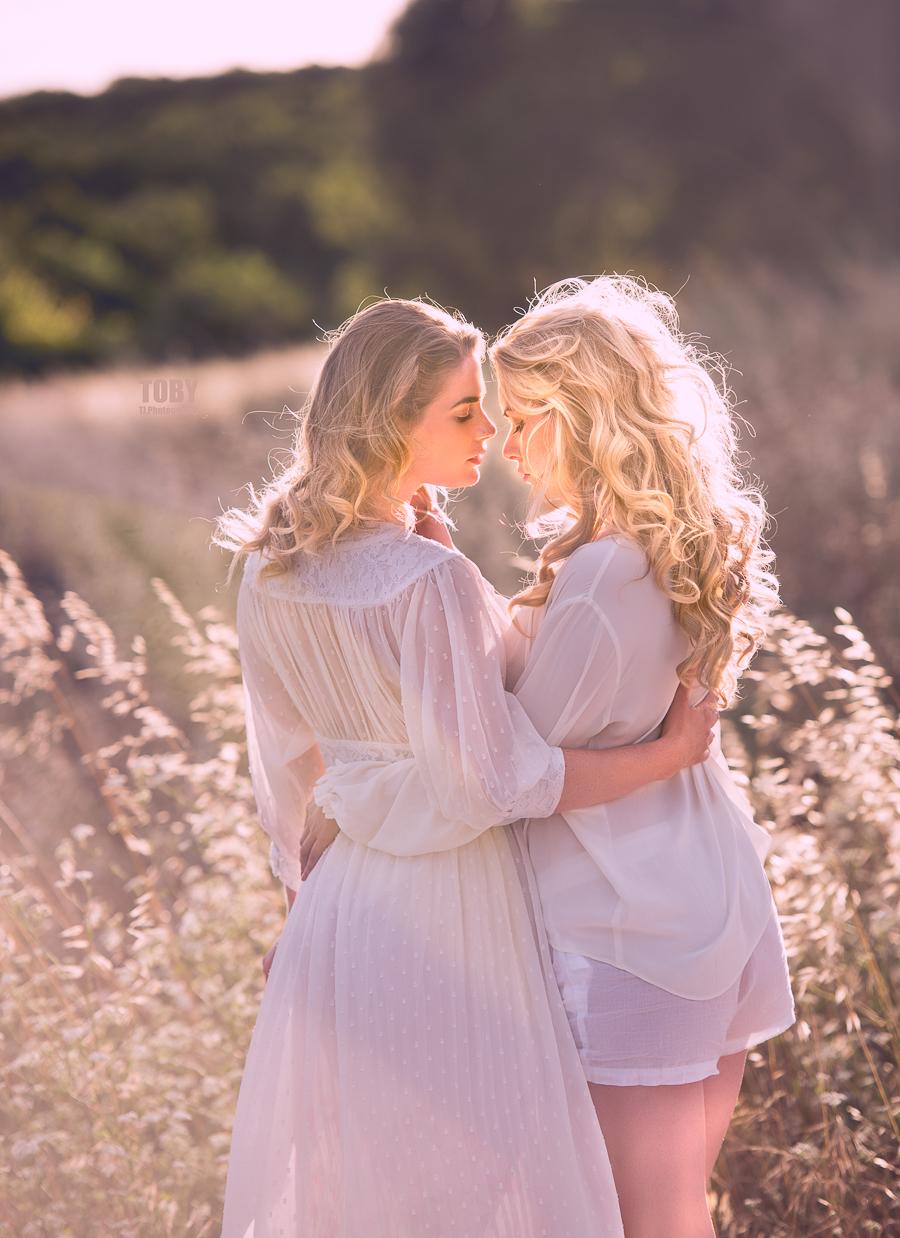 Artemis and Carla at sunset / Photography by TobyJ, Models Artemis Fauna, Models Carla Monaco, Stylist Artemisian Luxury Photographic Holidays / Uploaded 1st July 2017 @ 05:58 PM
