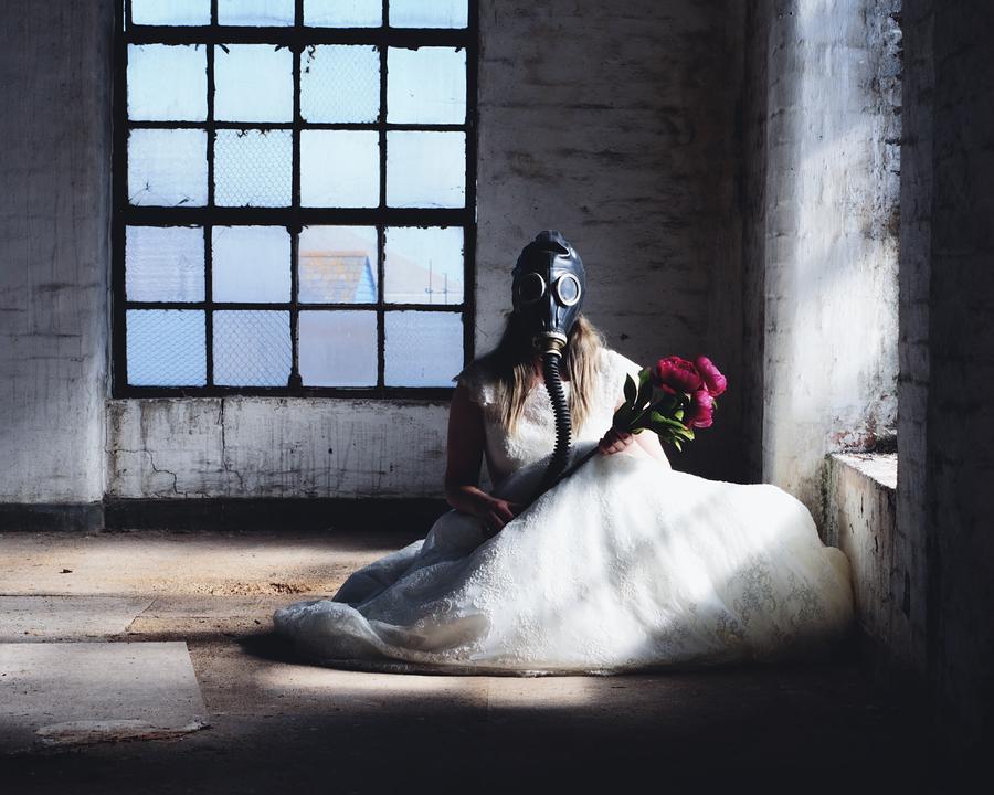 War Wedding / Photography by Andy White, Taken at Art Asylum Reloaded Photo Studio / Uploaded 1st November 2016 @ 08:38 PM