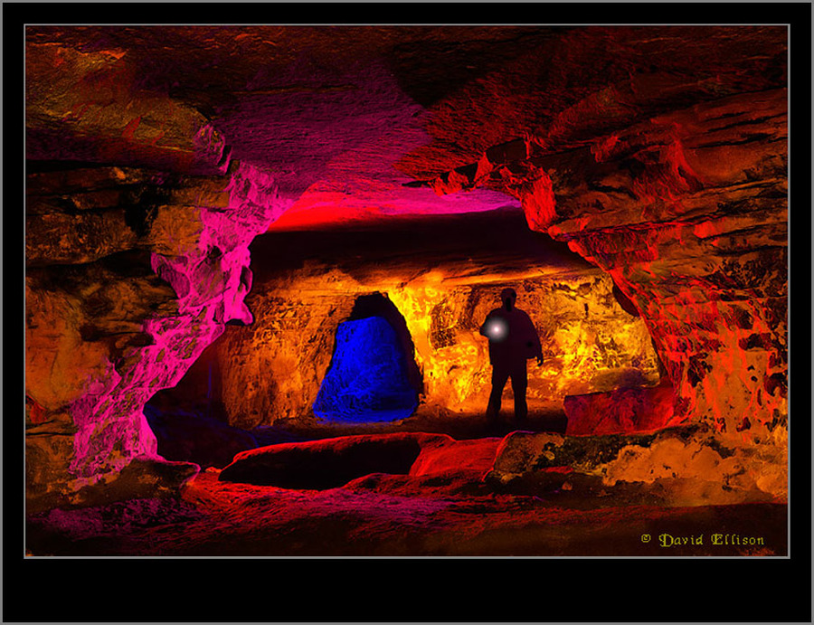 Cave Painting / Photography by Dave Ellison, Model Dave Ellison / Uploaded 4th September 2012 @ 08:17 PM