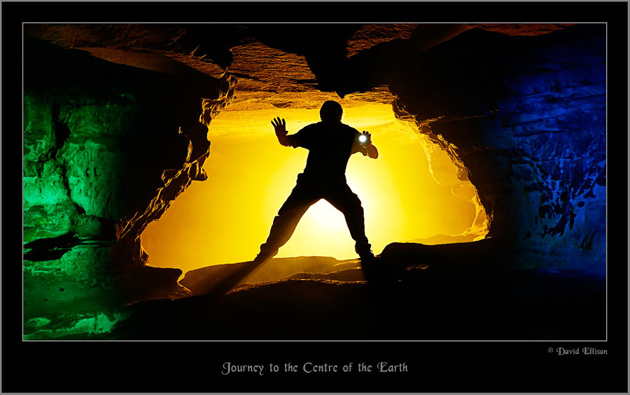 Journey to the Centre of the Earth!