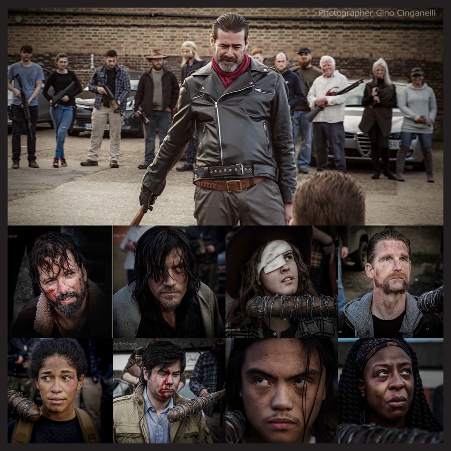 The Walking Dead (photo shoot) / Photography by Photographer Gino Cinganelli / Uploaded 15th January 2021 @ 09:35 AM