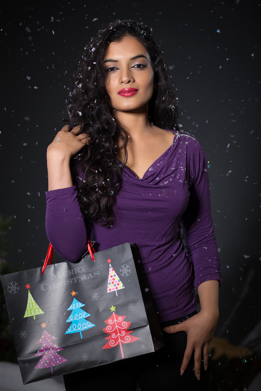 Christmas Shopping / Photography by Chris Horgan, Model Fatheha / Uploaded 17th December 2015 @ 07:01 PM