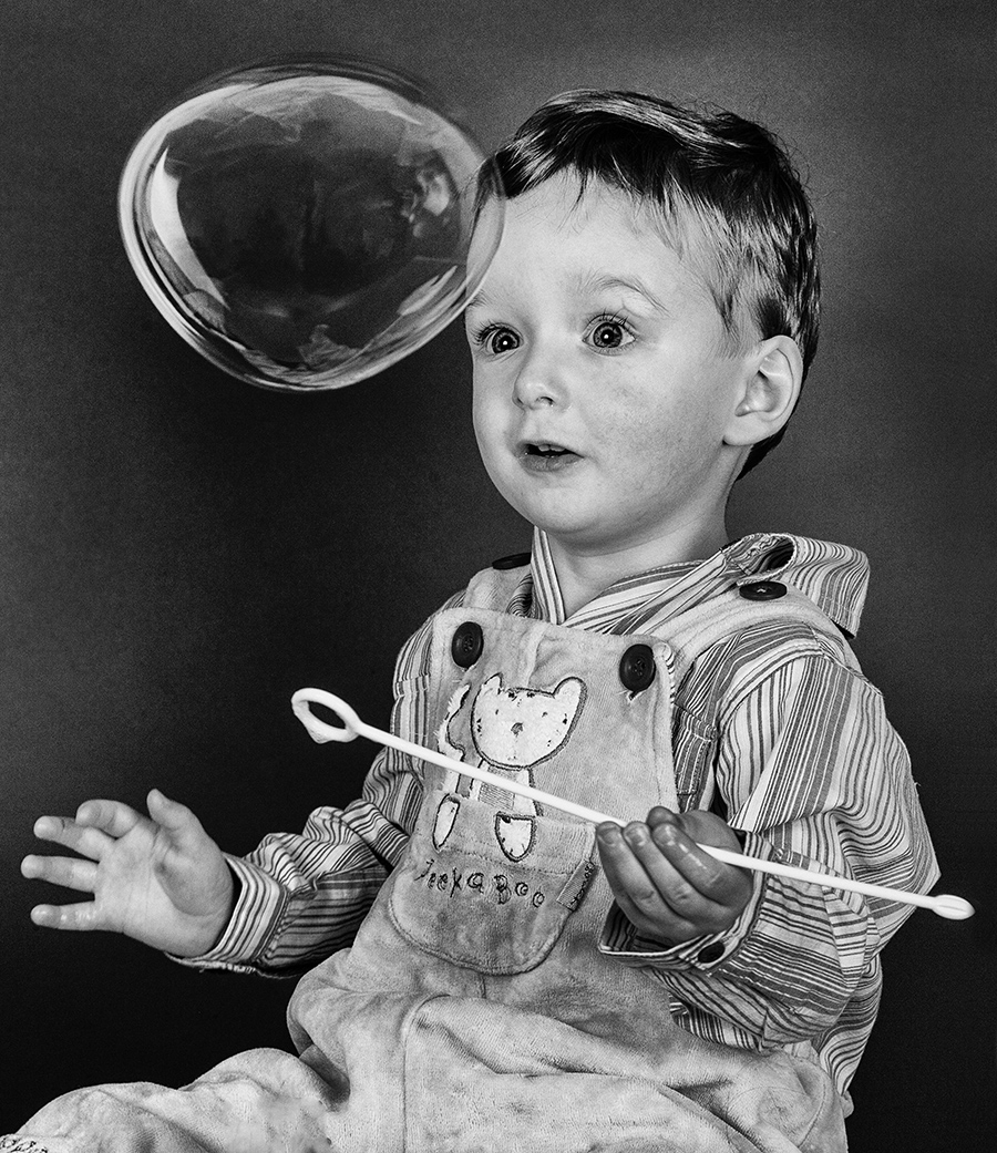 Boy with a Bubble / Photography by Sandpiper / Uploaded 11th June 2014 @ 07:53 PM