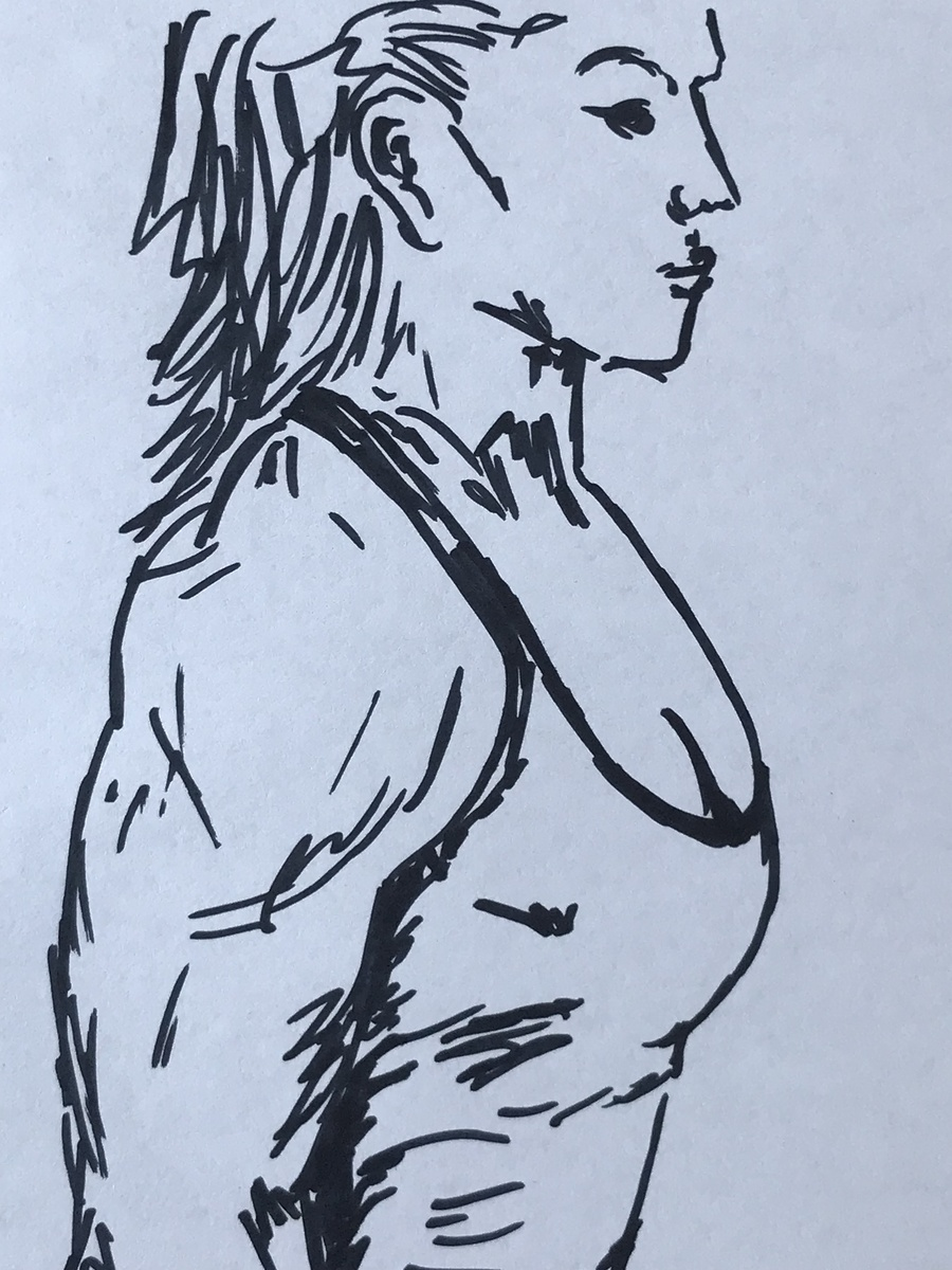Female Muscle / Artwork by Not Björn - Artist / Uploaded 5th October 2019 @ 03:18 PM