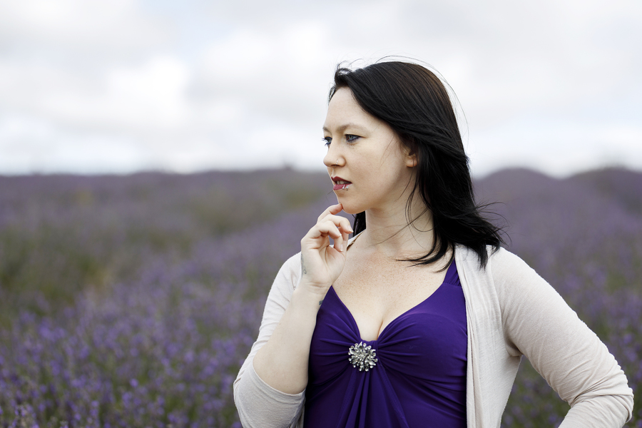 Lavender Fields  / Photography by AweFull Photos, Model -Natalie- / Uploaded 27th August 2021 @ 07:40 PM